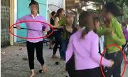 Công an điều tra hai nhóm nữ sinh cầm gậy sắt đánh nhau