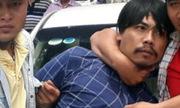 Kẻ trộm ôtô trước trung tâm thương mại bị bắt