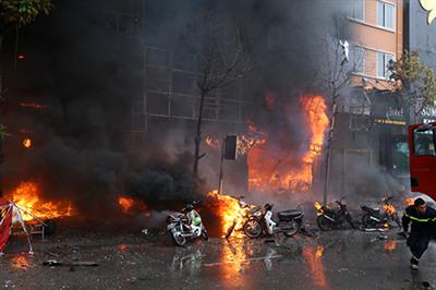 Cháy quán karaoke khiến 13 người chết do bất cẩn của thanh niên 23 tuổi